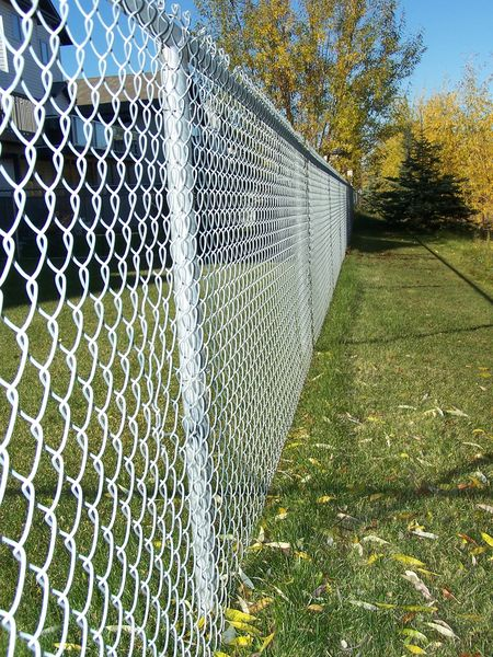 Phoenix Fence Chainlink Residential Galvanized Fence