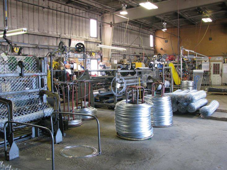 Phoenix Fence Services Manufacturing Chain Link Mesh
