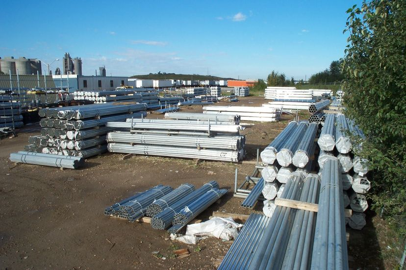 Phoenix Fence Products Pipe And Tube Galvanized Pipe