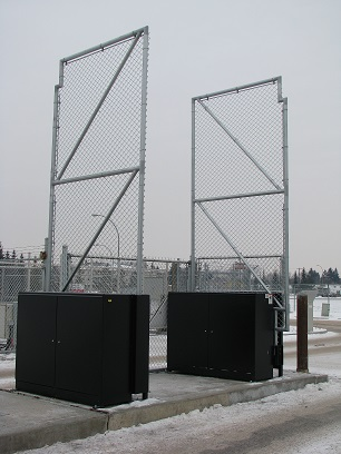 Phoenix Fence Auto Gate Systems Vertical Pivot Gate