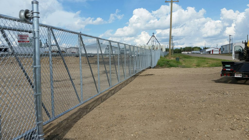 Phoenix Fence Chainlink Commercial Industrial